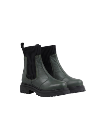 Ca Shott Ca Shott half high chelsea boots ladies green leather
