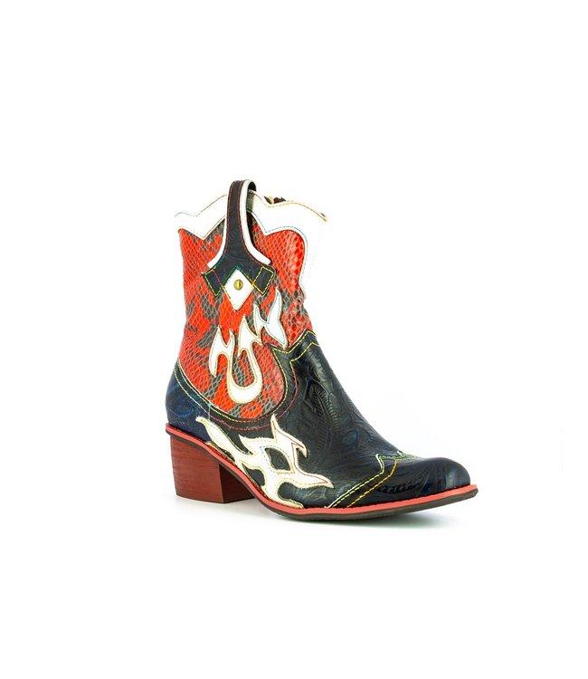 Laura Vita Laura Vita western boots blue