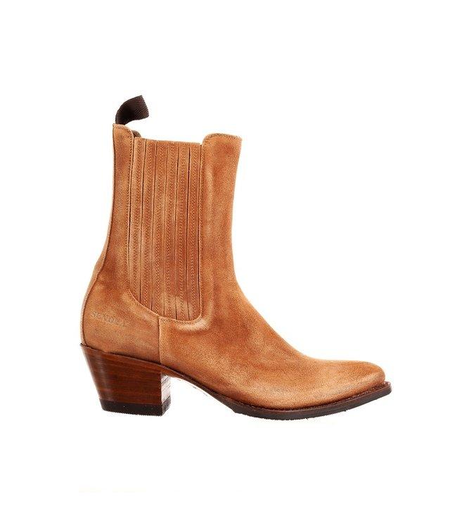 Sendra Sendra ladies western boot brown suede