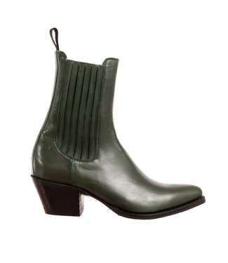 Sendra Sendra ladies western boots green leather