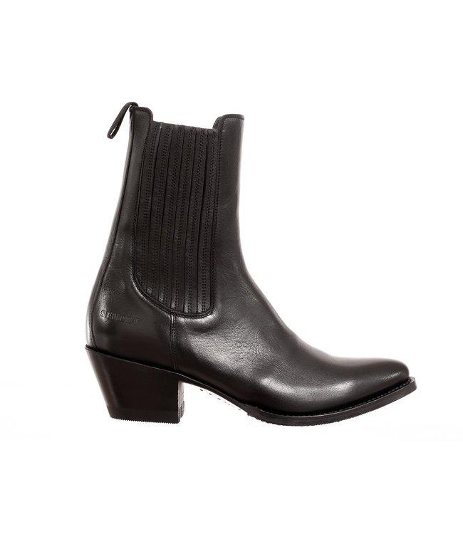 Sendra Sendra ladies western boots black leather