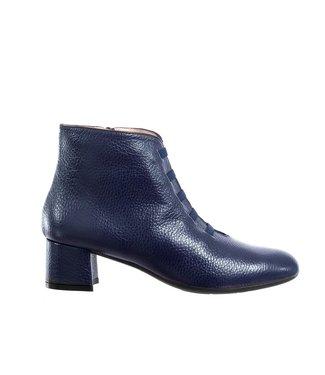 Square Feet Square Feet korte ritslaars elastiekjes donker blauw