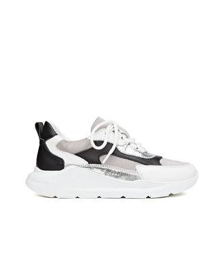 H32 H32 Coco dames sneakers grijs leer