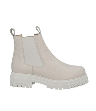 Ca Shott Ca Shott chelsea boots ladies off white leather