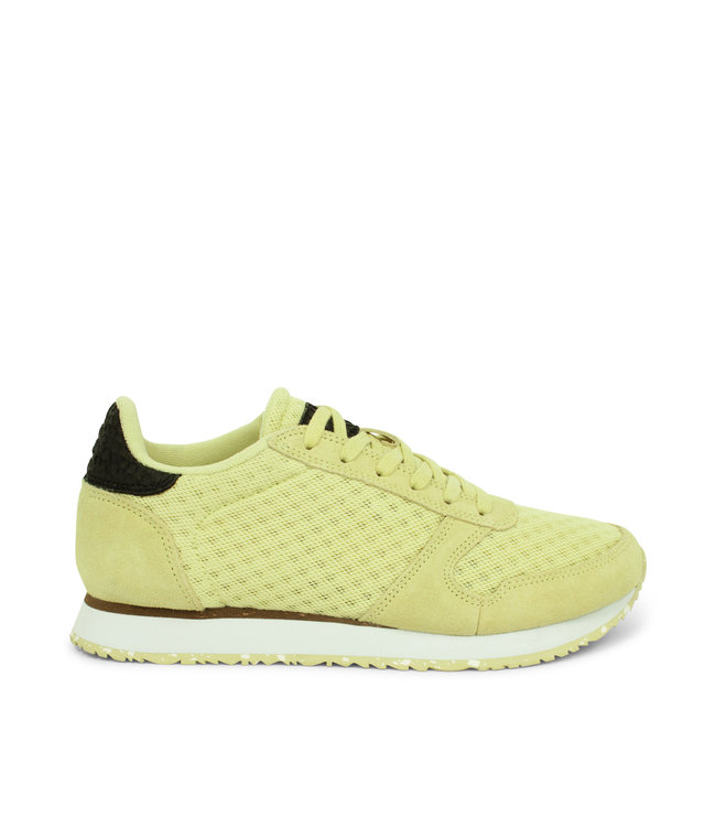 Woden Woden Ydun suede mesh 11 lime green ladies sneakers