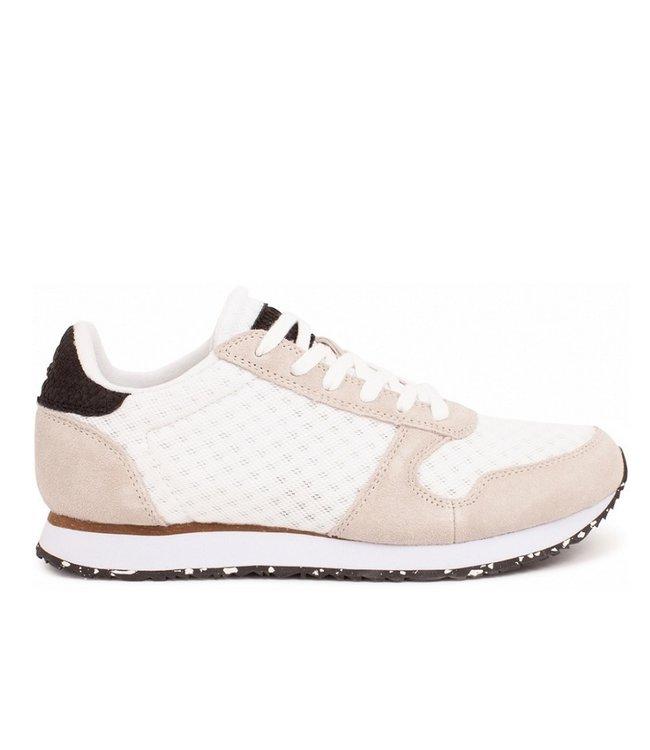 Woden Woden Ydun suede mesh 11 white ladies sneakers