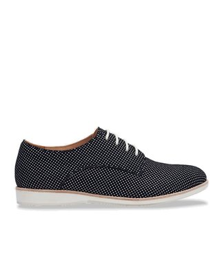 Rollie Rollie Derby Black Dream black ladies lace-up shoe