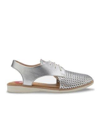 Rollie Rollie Slingback Punch zilver dames sandaal