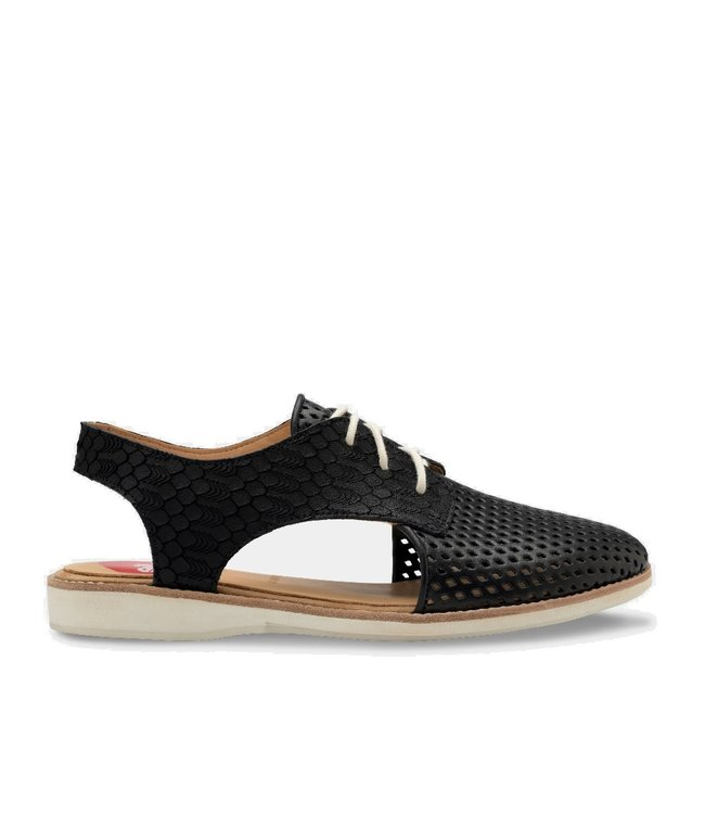 Rollie Rollie Slingback Punch black ladies sandal