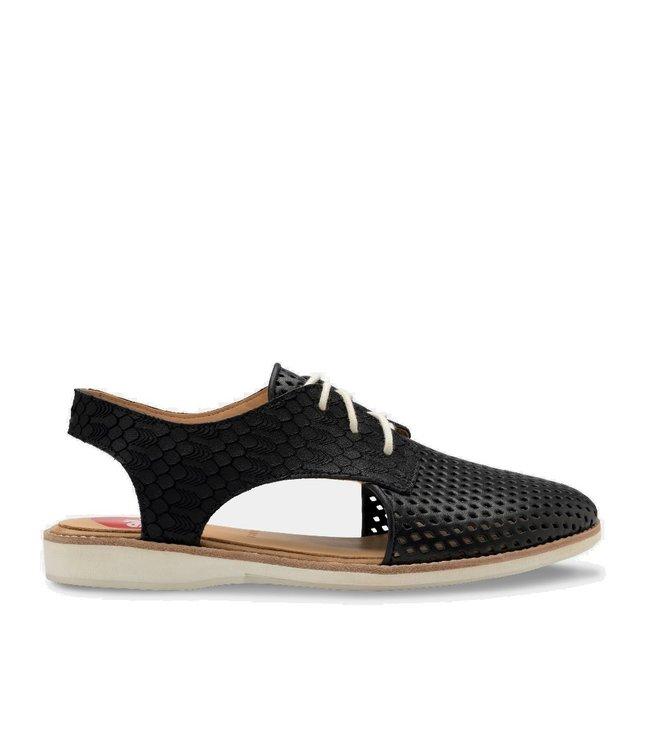Rollie Rollie Slingback Punch zwart dames sandaal