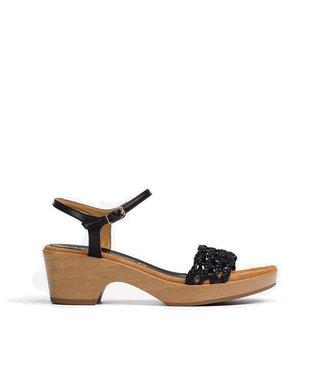 Unisa Unisa sandal Ilobi black leather