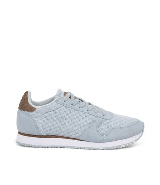Woden Woden Ydun suede mesh 11 light blue ladies sneakers