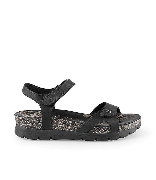 Panama Jack Panama Jack Sulia Basics sandaal zwart leer
