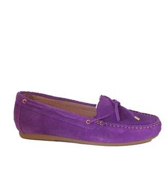 Giulia Giulia ladies moccasins lilac suede