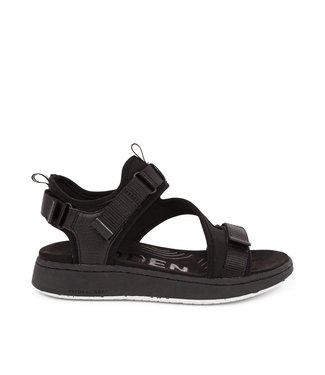 Woden Woden Emilie velcro sandal black