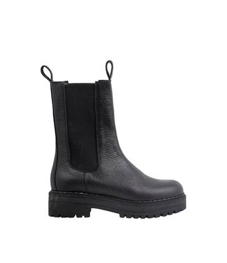 Ca Shott Ca Shott half high chelsea boots ladies black leather