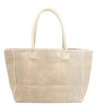 Zeen Zeen Bag ladies bag beige leather