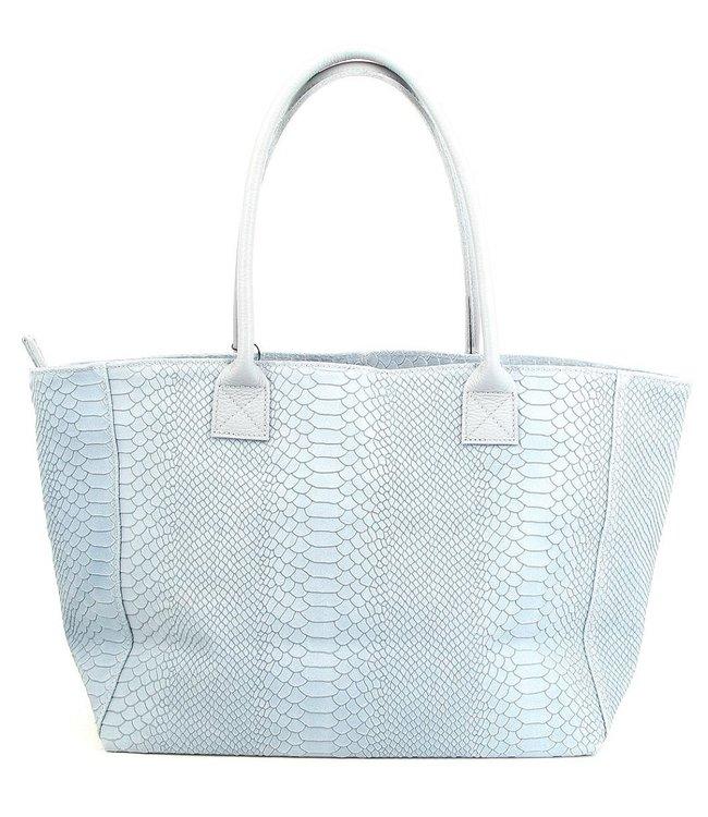 Zeen Zeen Bag damestas lichtblauw leer