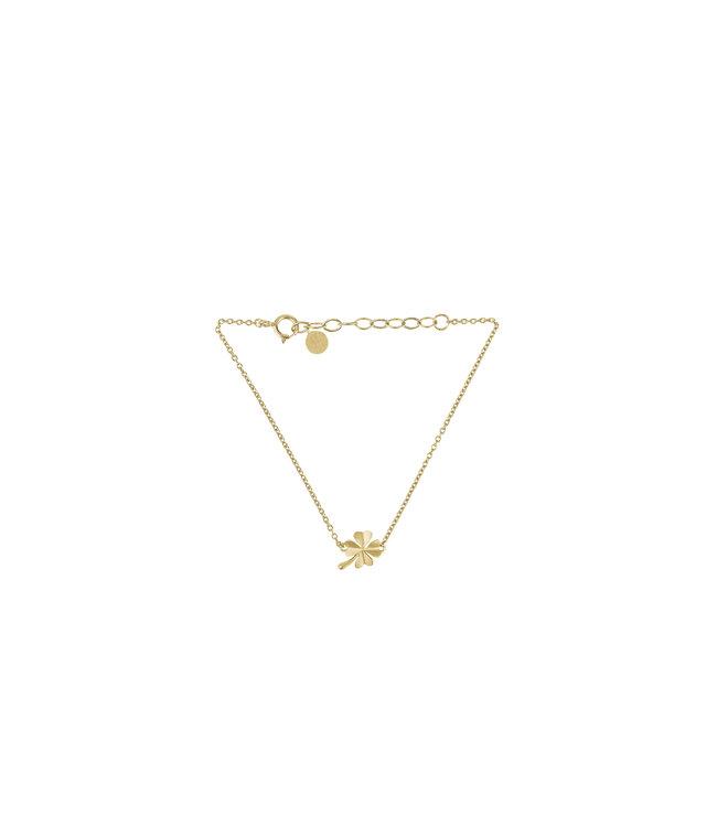 Pernille Corydon Pernille Corydon Clover armband goud verguld
