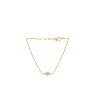 Pernille Corydon Pernille Corydon Fjord bracelet gold plated