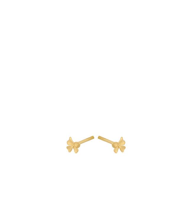 Pernille Corydon Pernille Corydon Small Bloom oorbellen goud verguld