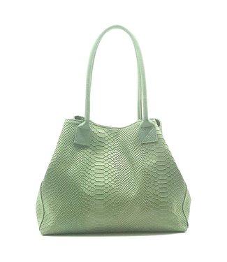 Zeen Zeen Bag ladies bag mint green leather