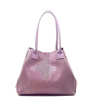 Zeen Zeen Bag ladies bag lilac leather