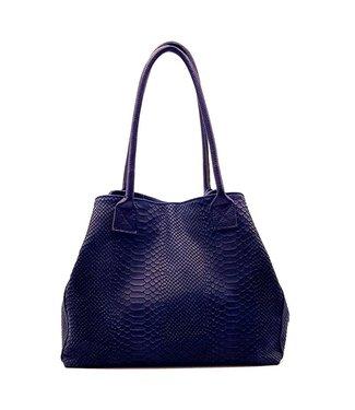 Zeen Zeen Bag ladies bag jeans blue leather