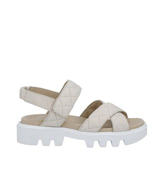 Ca Shott Ca Shott chunky dames sandaal taupe leer