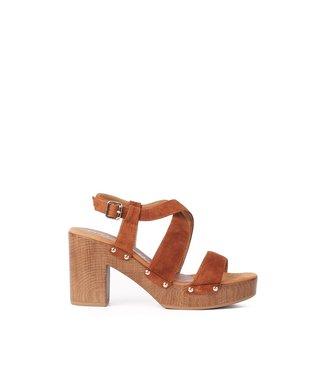Unisa Unisa Terrat sandal brown suede