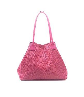 Zeen Zeen Bag damestas roze leer