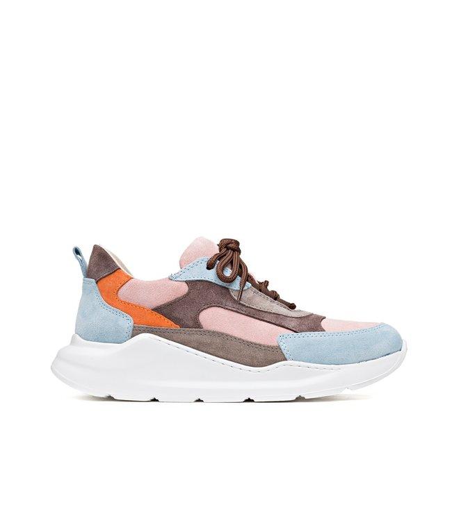 H32 H32 Coco Bubble Blu dames sneakers blauw roze