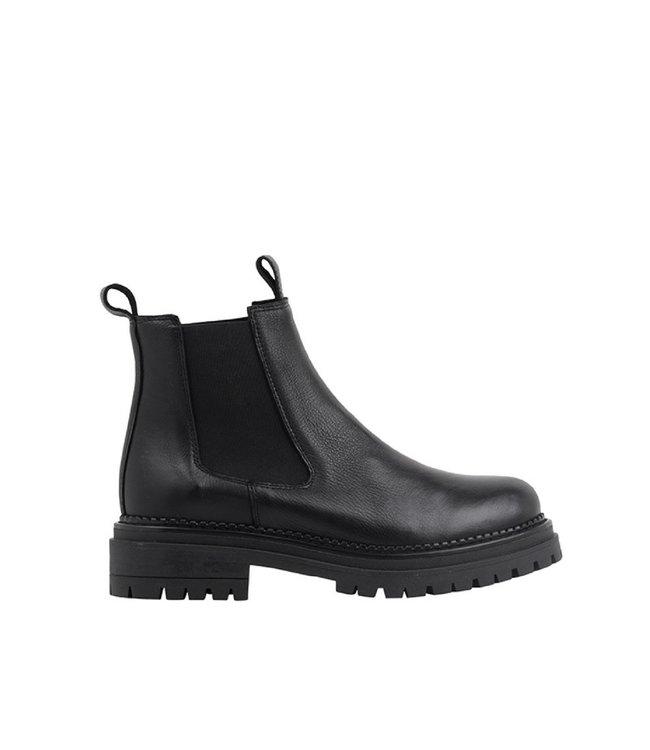 Ca Shott Ca Shott chelsea boots dames zwart leer