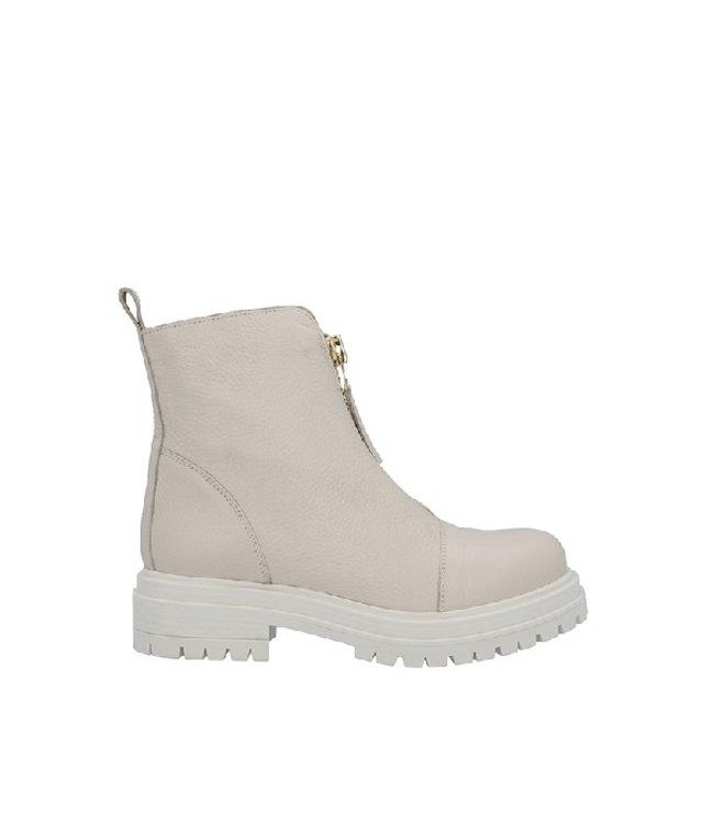 Ca Shott Ca Shott enkelhoog voorrits boots dames beige leer