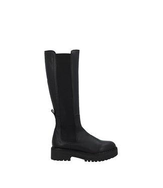 Ca Shott Ca Shott chelsea long boot ladies black leather