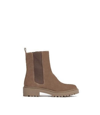 Unisa Unisa taupe suede chelsea boots