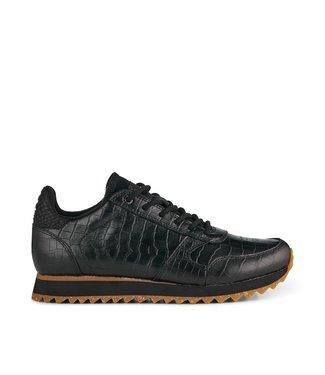 Woden Woden Ydun Coco Shiny zwart dames sneakers