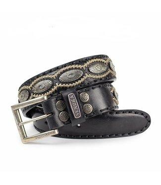 Sendra Sendra belt 7607 black leather