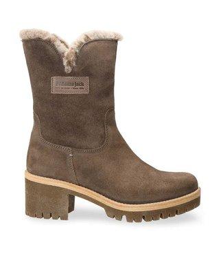 Panama Jack Panama Jack ladies boot taupe suede with sheepskin lining