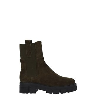 Ca Shott Ca Shott chelsea boots dames groen suède