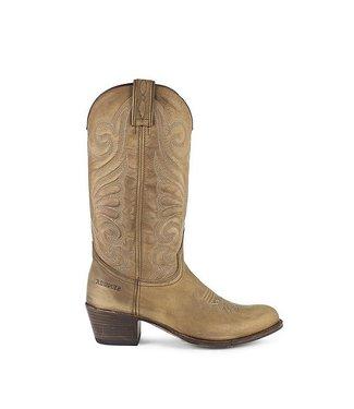 Sendra Sendra cowboy ladies boots camel nubuck