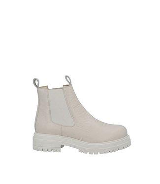 Ca Shott Ca Shott chelsea boots ladies beige leather
