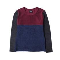 Howlin Badstof jongens sweater bordeaux rood
