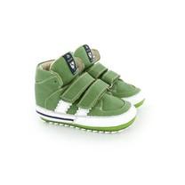 Shoesme Groene babyschoenen