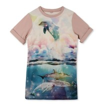 Stella McCartney kids Roze meisjes jurkje dolfijn