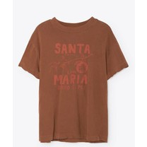 The Animals Observatory Bruin t-shirt Santa Maria