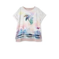 Stella McCartney kids Roze meisjes t-shirt dolfijn