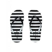 Mads Norgaard Zwarte slippers Foam Flippa