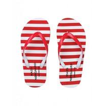 Mads Norgaard Rode slippers Foam Flippa