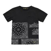 Zwart t-shirt Dalton Bandana
